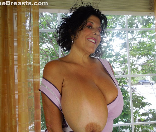 Carol Says Squeeze My Tits