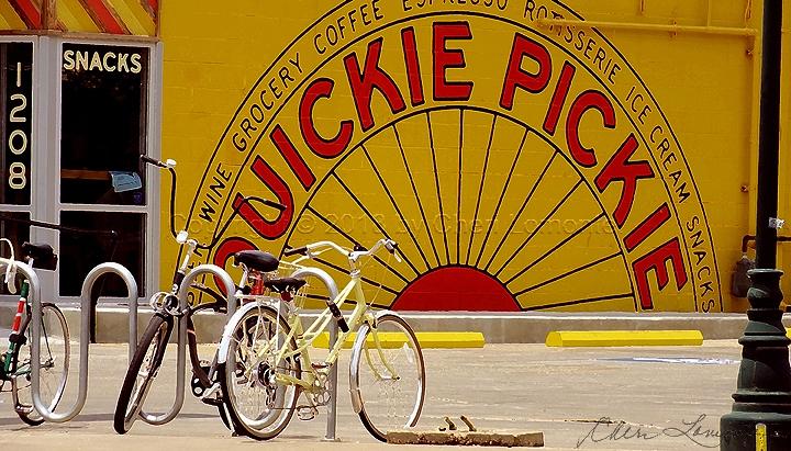 Quickie Pickie Bikestand