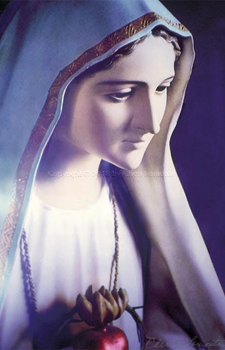 Immaculata - Explore Sacred Art Photograph by Cheri Lomonte