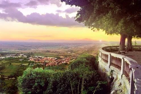 Italian Country Sunset