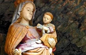 Notre Dame - Sacred Art Photograph by Cheri Lomonte