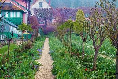 Pathway to Monet's Kitchen