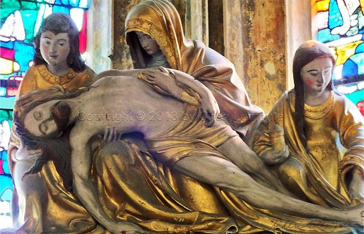 Pietà II - Sacred Art Photograph by Cheri Lomonte