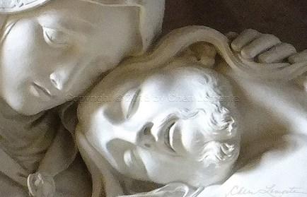 Pietà IV - Explore Sacred Art - Photograph by Cheri Lomonte