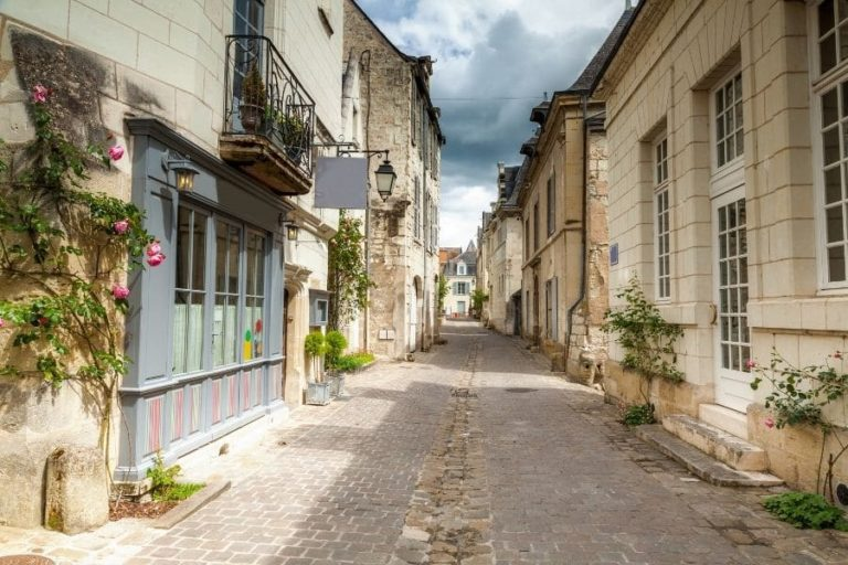 The medieval city of Chinon - The streets