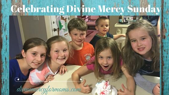 Celebrating Divine Mercy Sunday 1