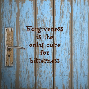 forgiveness bitterness door