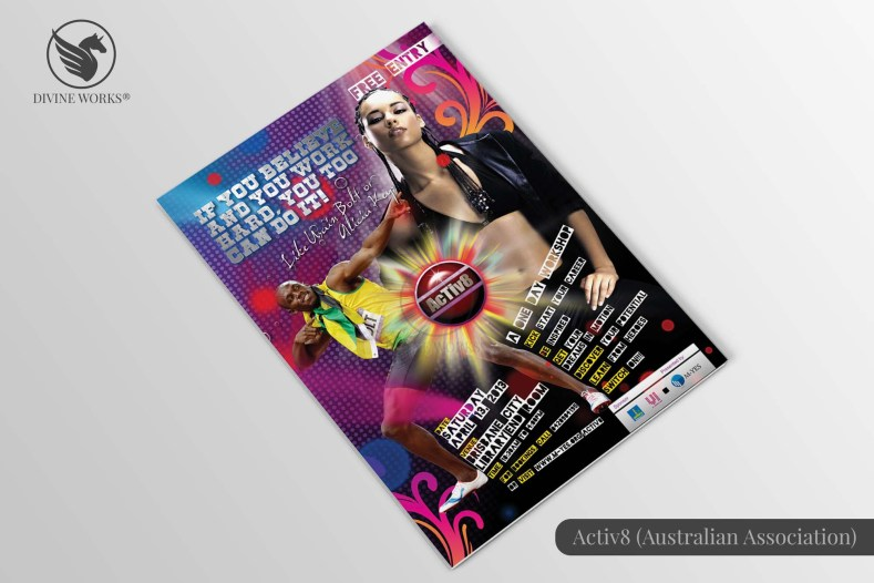 Activ8 Brochure Design By Divine Works