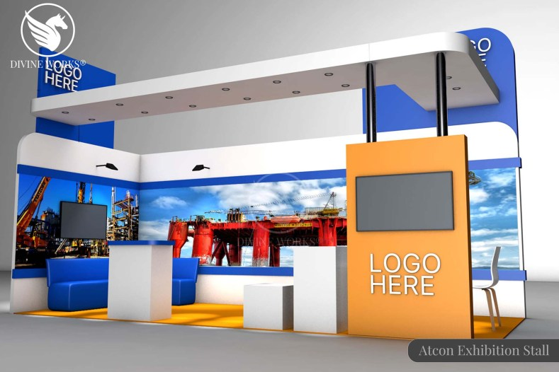 Atcon Exhibition Stall Design By Divine Works