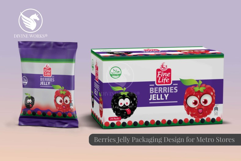 Metro Berries Candy Packaging Design By Divine Works
