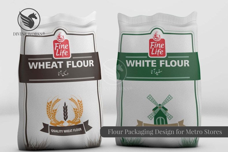 Flour Packaging Design By Divine Works