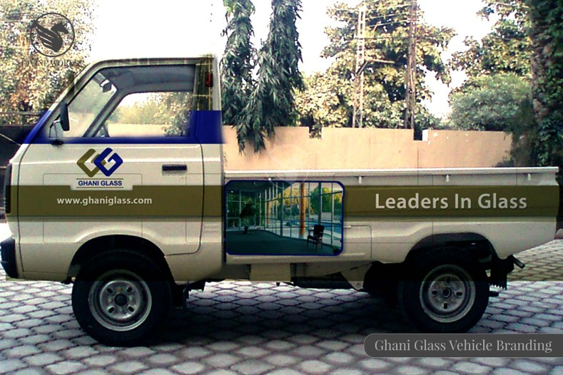 Ghani Glass Vehicle Branding Design By Divine Works