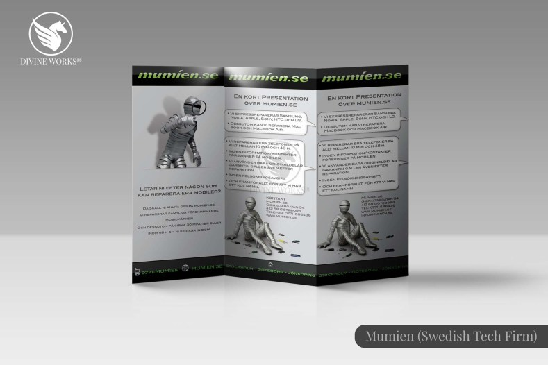 Mumien Brochure Design By Divine Works