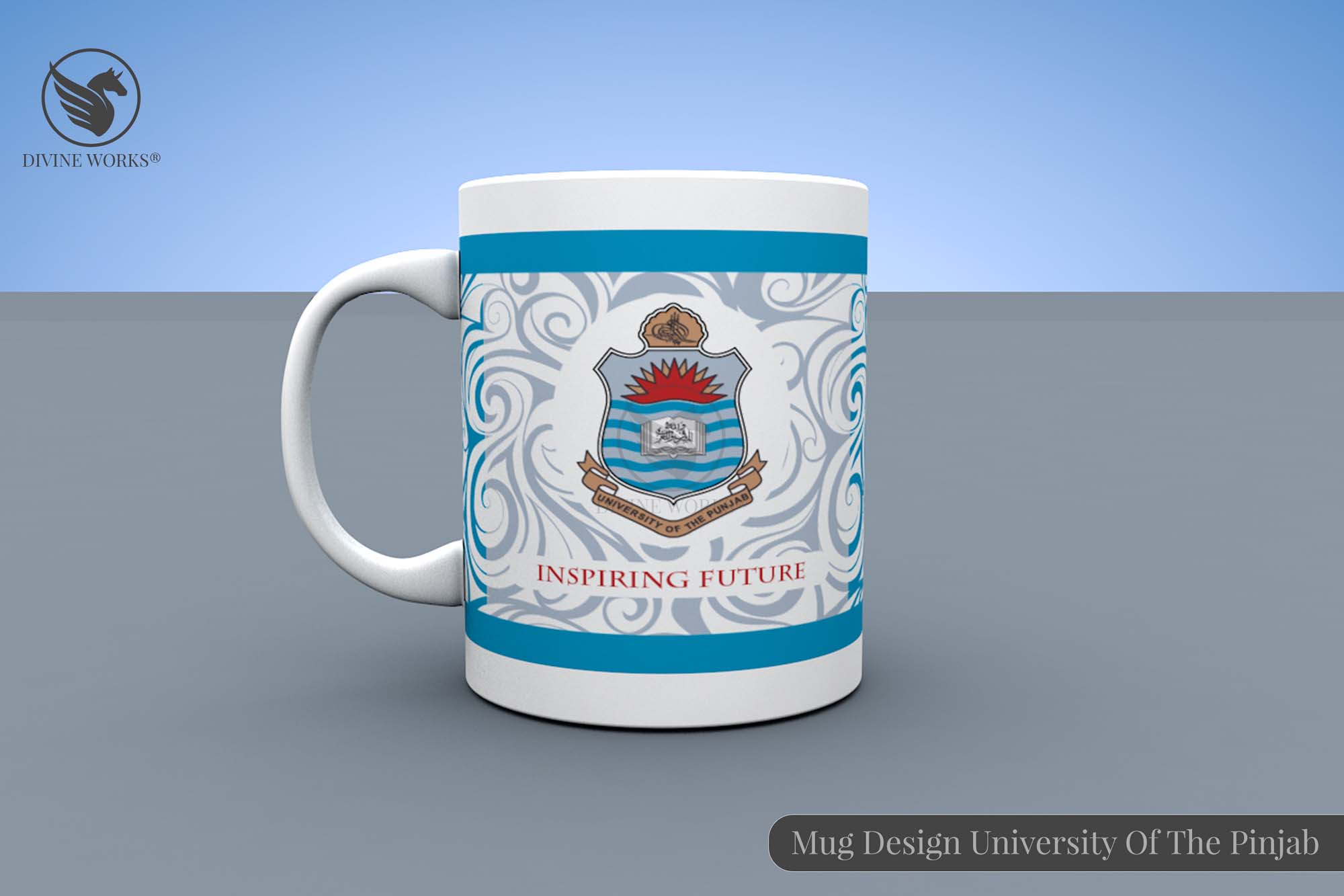 Punjab University Mug Design By Divine Works