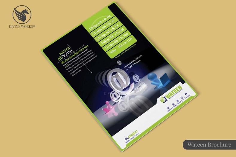 Wateen Telecom Brochure Design By Divine Works