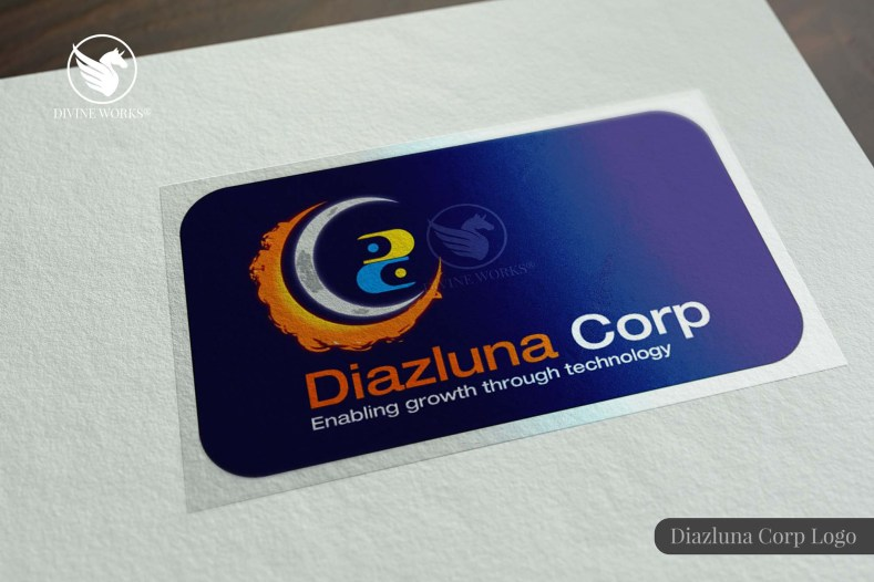 Diazluna Corp Logo Design By Divine Works