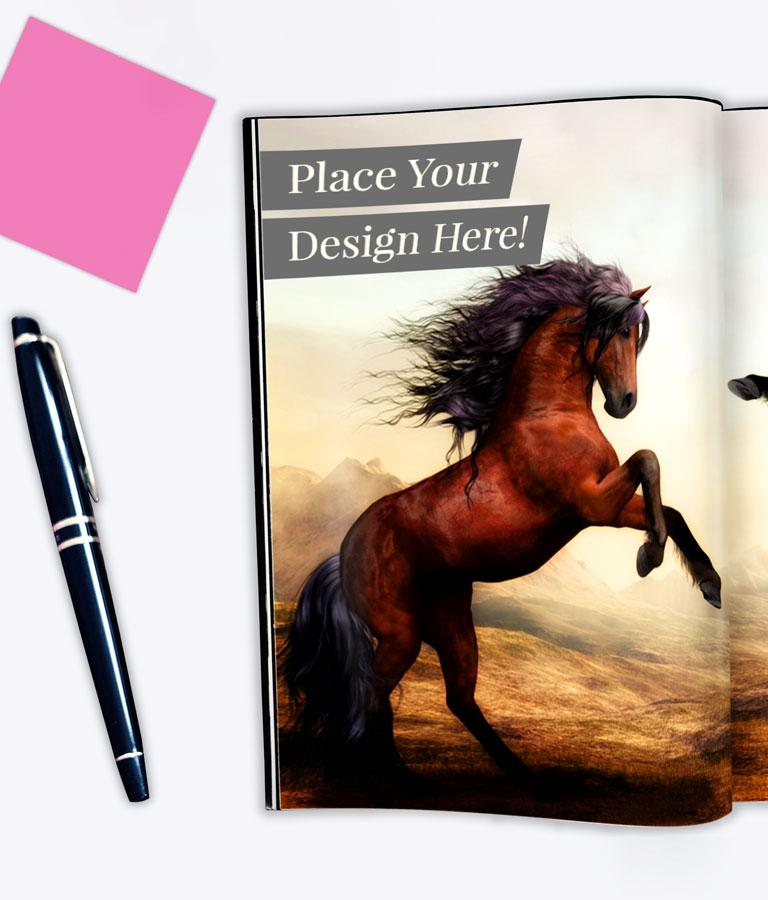 Free Magazine Spread Mockup by Divine Works