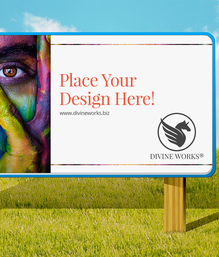 Free Outdoor Hoarding Mockup by Divine Works