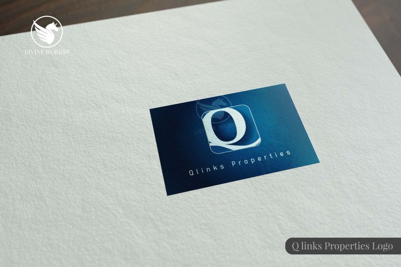 Qlinks Logo Design By Divine Works