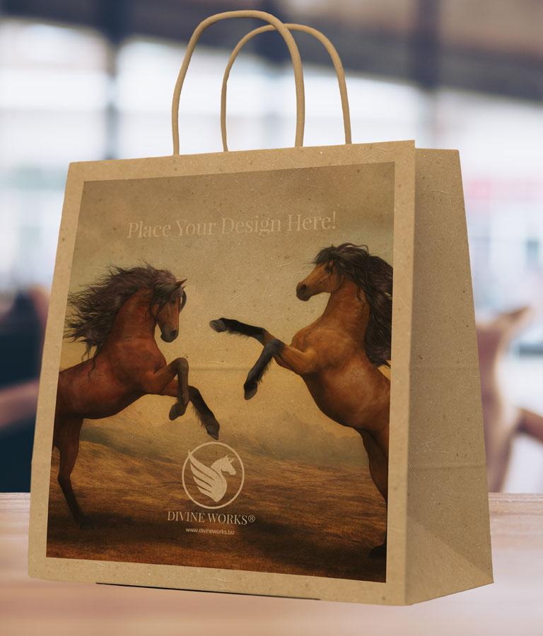 Shopping Bag Mockup by Divine Works