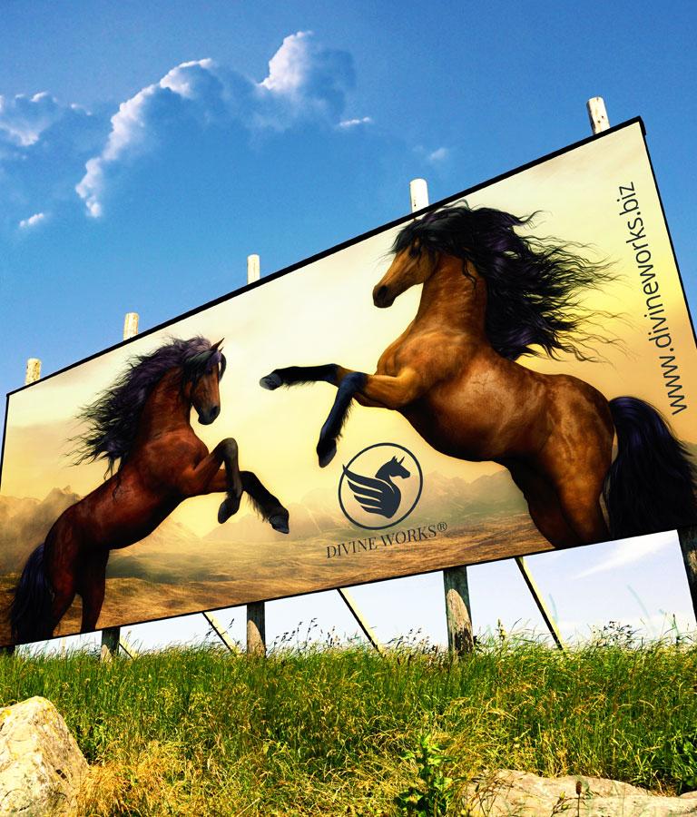 Free Billboard Mockup Download by Divine Works