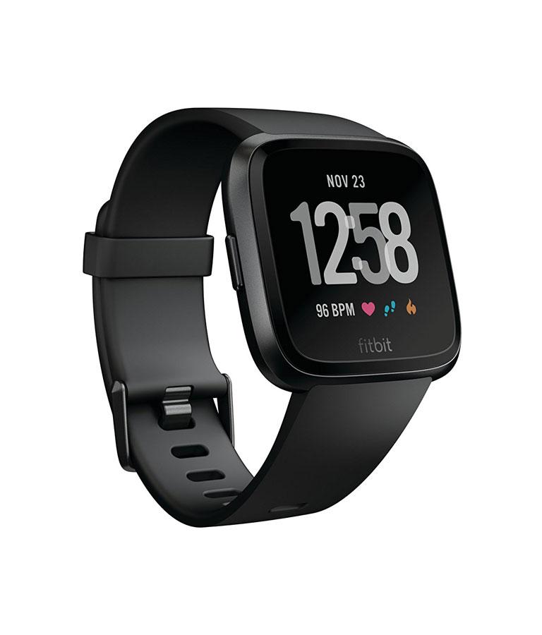 Fitbit Versa Smartwatch Black/Black Aluminium