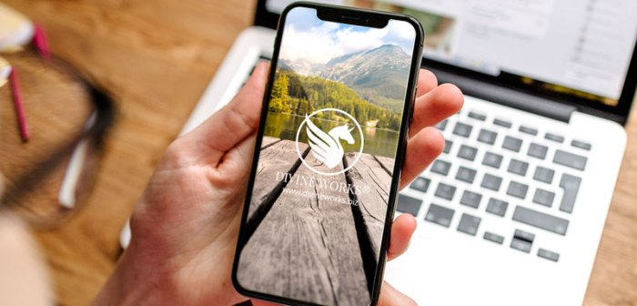 Free iPhone X Mockup Download by Divine Works