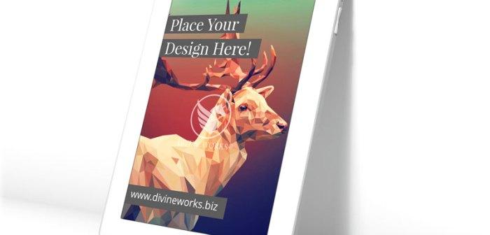 Free Apple iPad Air Mockup by Divine Works