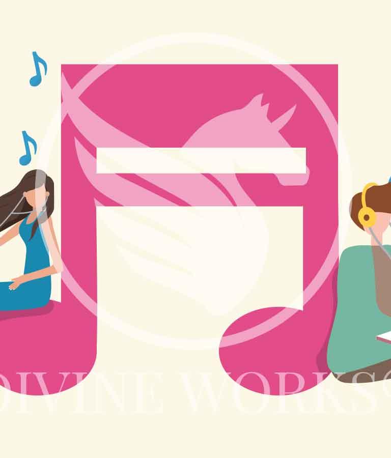 Free Adobe Illustrator Musically Human Vector Illustration by Divine Works