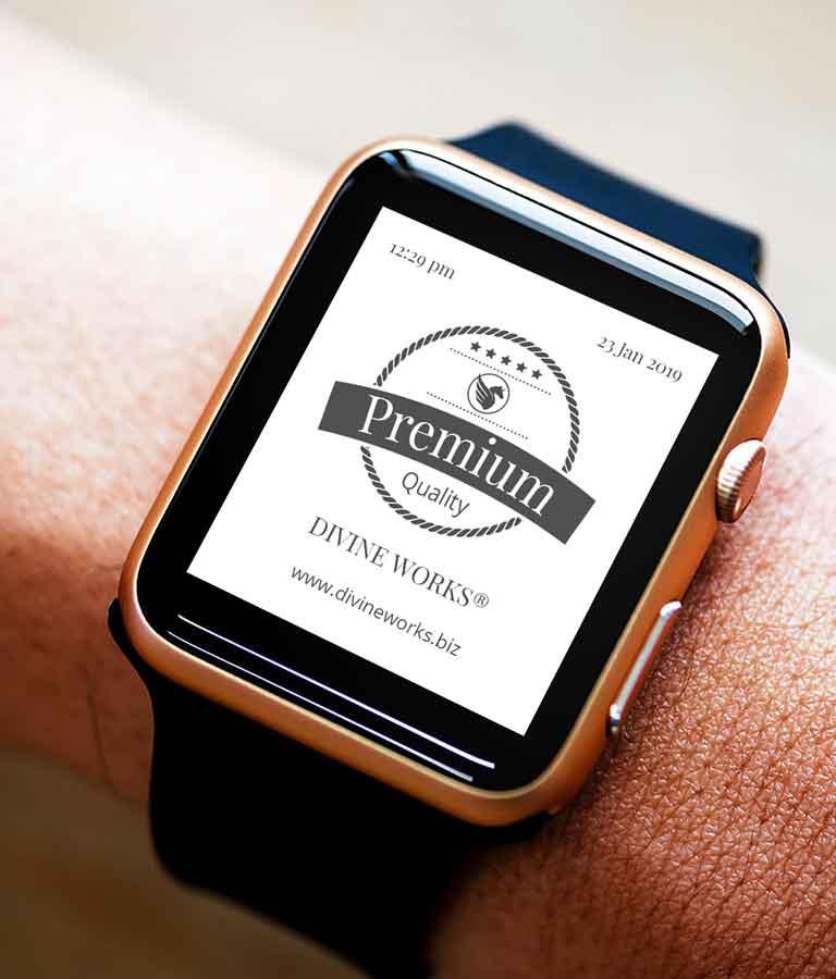 Free Smart Watch Mockup by Divine Works