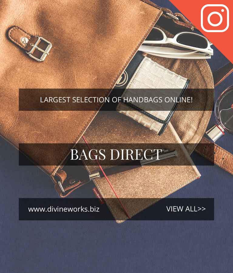 Free Hand Bags Sales Instagram Post Template by Divine Works