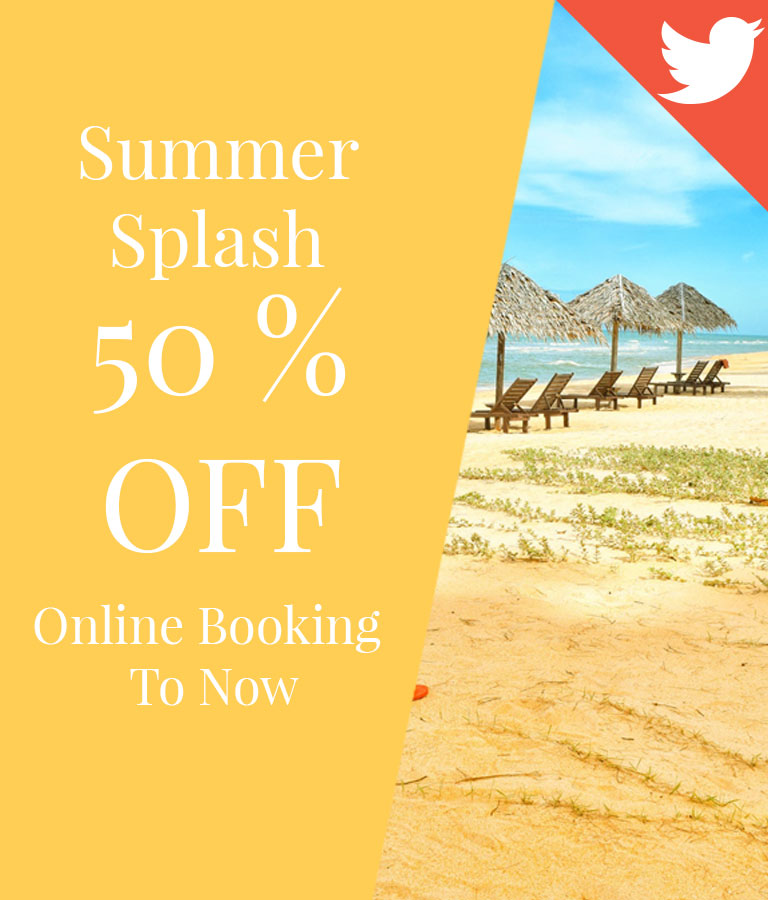 Summer Splash Twitter Post Templates by Divine Works