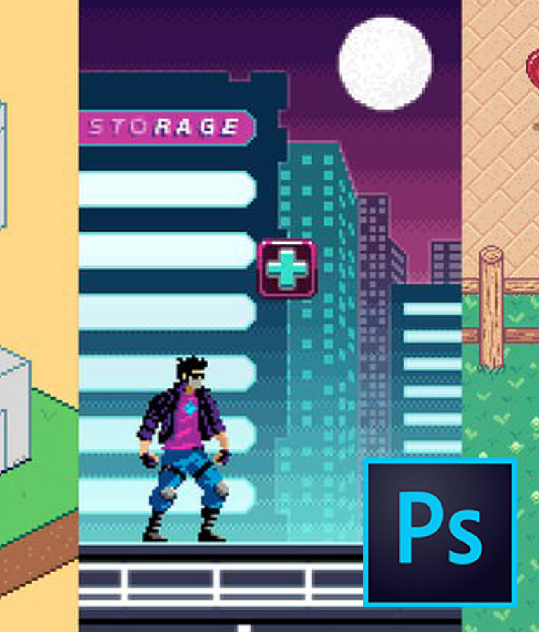 Pixel Art Mastery: The #1 course on retro video game art