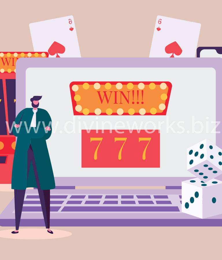 Free Adobe Illustrator Casino Gaming Vector Illustration by Divine Works
