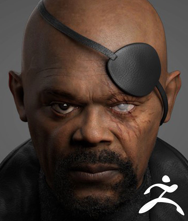 Hyper Realistic Character Likeness Portrait for Films