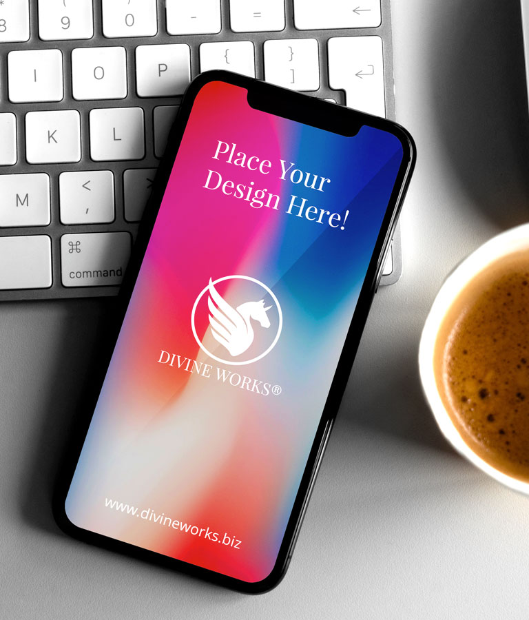 Free Black iPhone X Mockup PSD by Divine Works