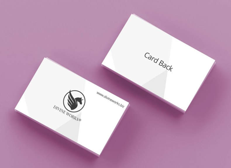 Download Free Business Card Mockup by Divine Works