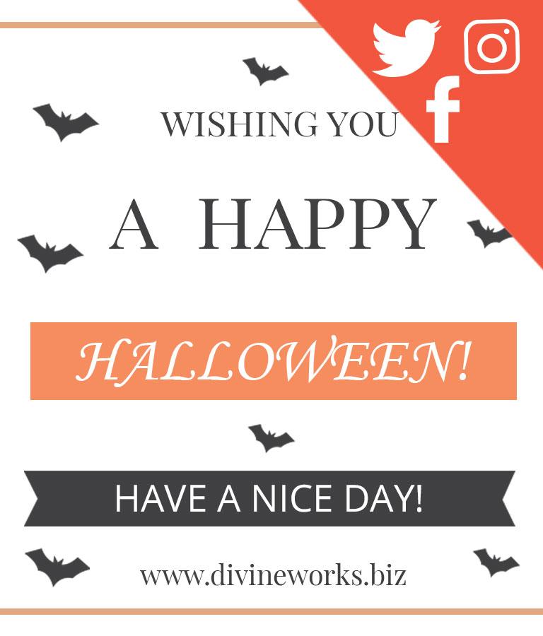 Free Halloween Social Media Template Set