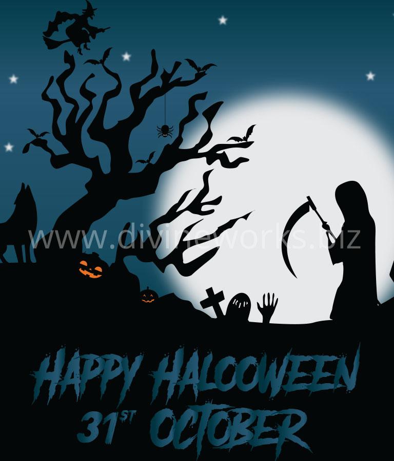 Scray Halloween Vector