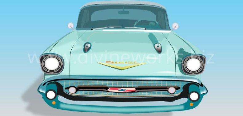 Download Free Vintage Car Vector Illustration by Divine Works