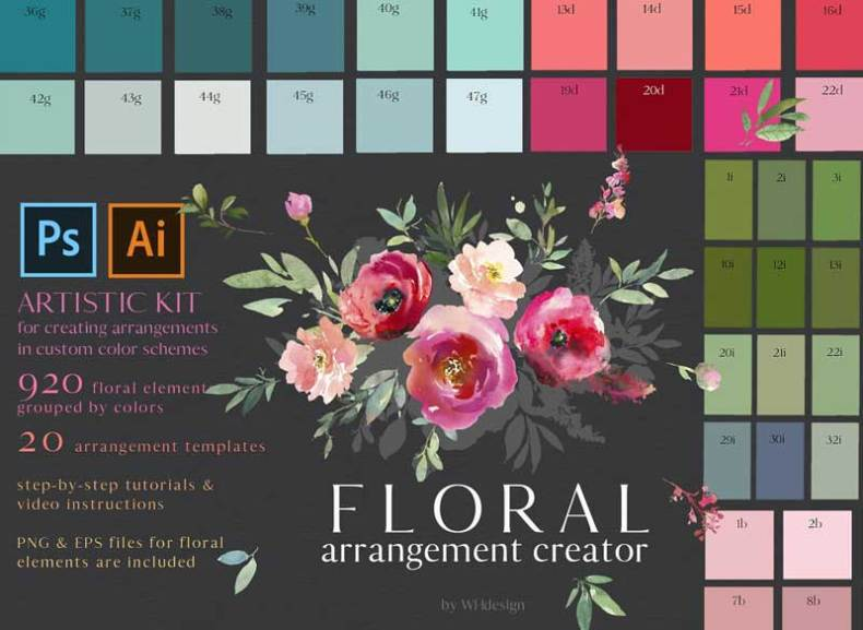 Intro Sale 40% off Bouquet Creator
