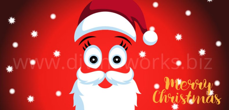 Download Free Santa Claus Beard Vector by Divine Works