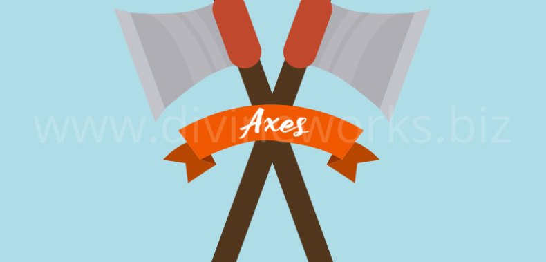 Download Free Axes Vector Illustration by Divine Works
