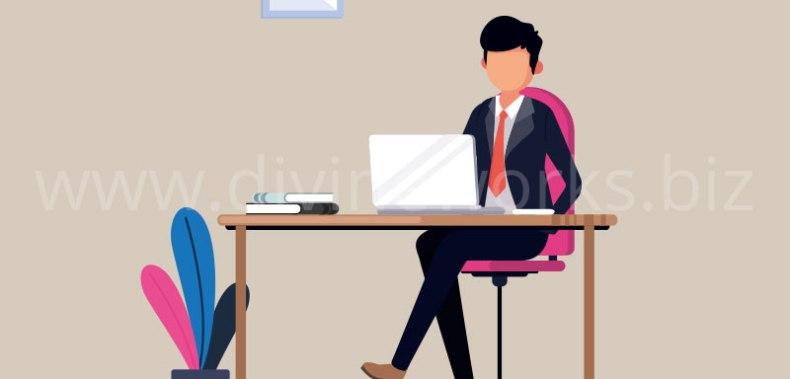 Download Free Business Man Vector Illustration by Divine Works