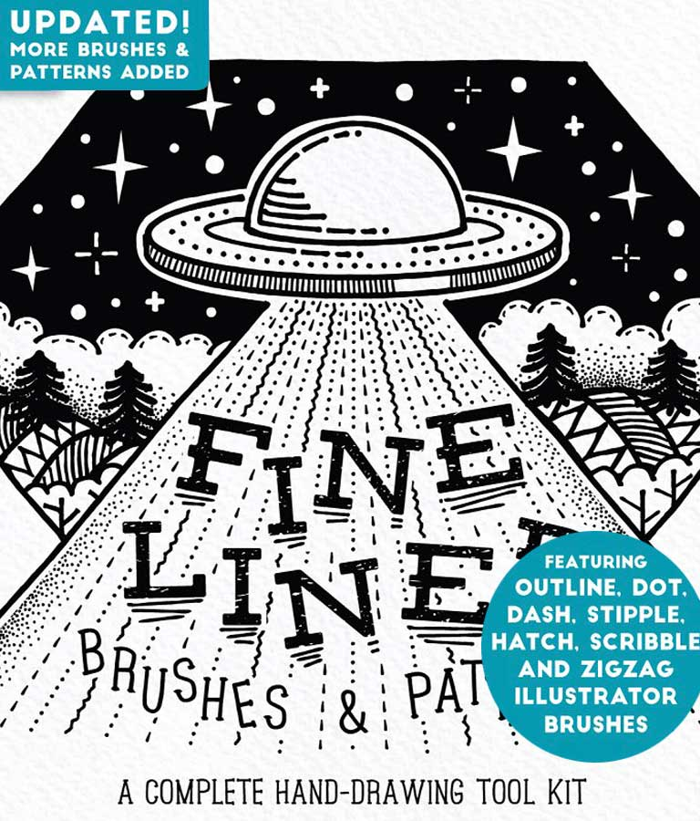 Fine Liner Brushes & Patterns