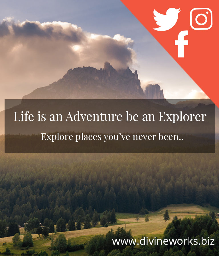 Free Adventure Social Media Template