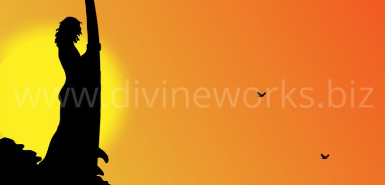 Download Free Surfer Man Vector Illustration by Divine Works