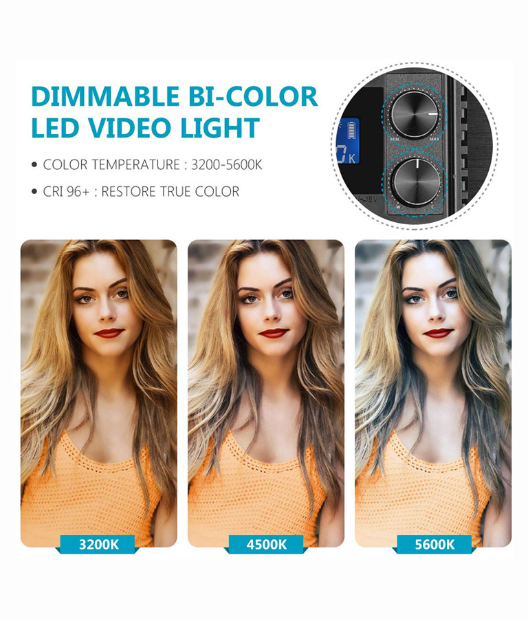 LED Video Light For YouTubers
