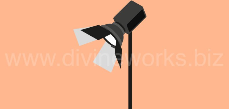 Download Free Video Light Vector Illustration by Divine Works