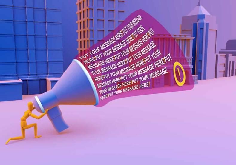 3D Concept Illustration Mockup
